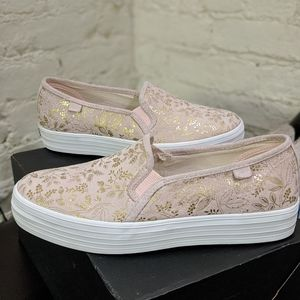 Keds RPC Blush with gold detail, Trip deck